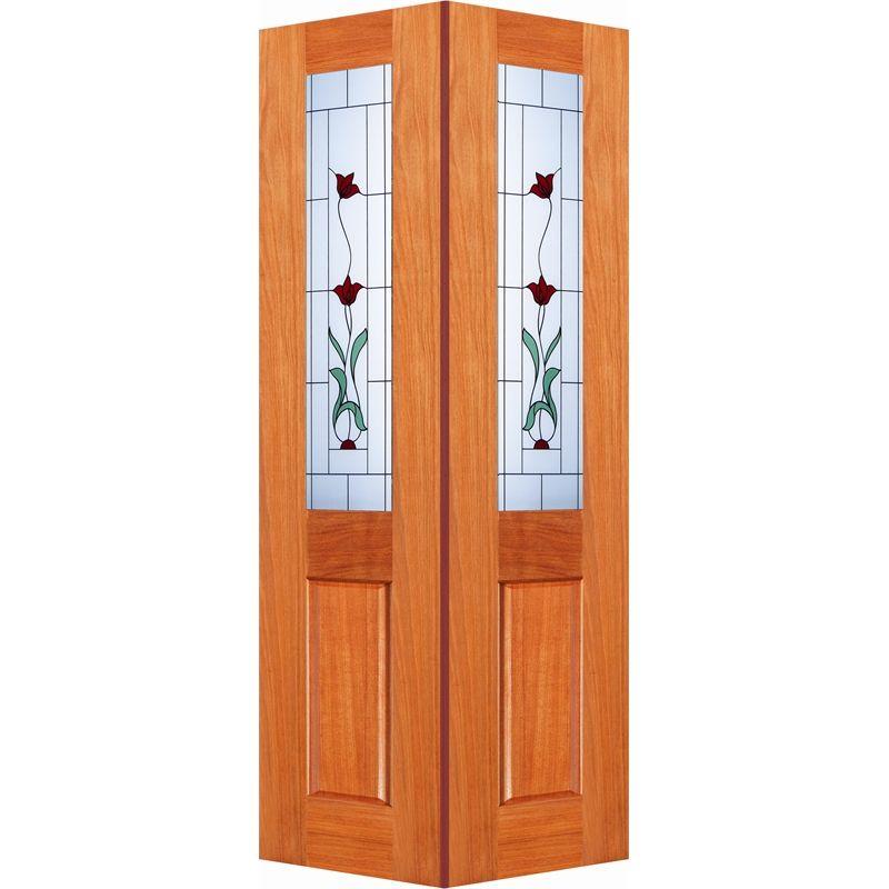Woodcraft Doors 2040 x 820 x 35mm Cass Bifold Internal Door With Creeping Flower Frosted Glass  sc 1 st  Pinterest & Woodcraft Doors 2040 x 820 x 35mm Cass Bifold Internal Door With ...