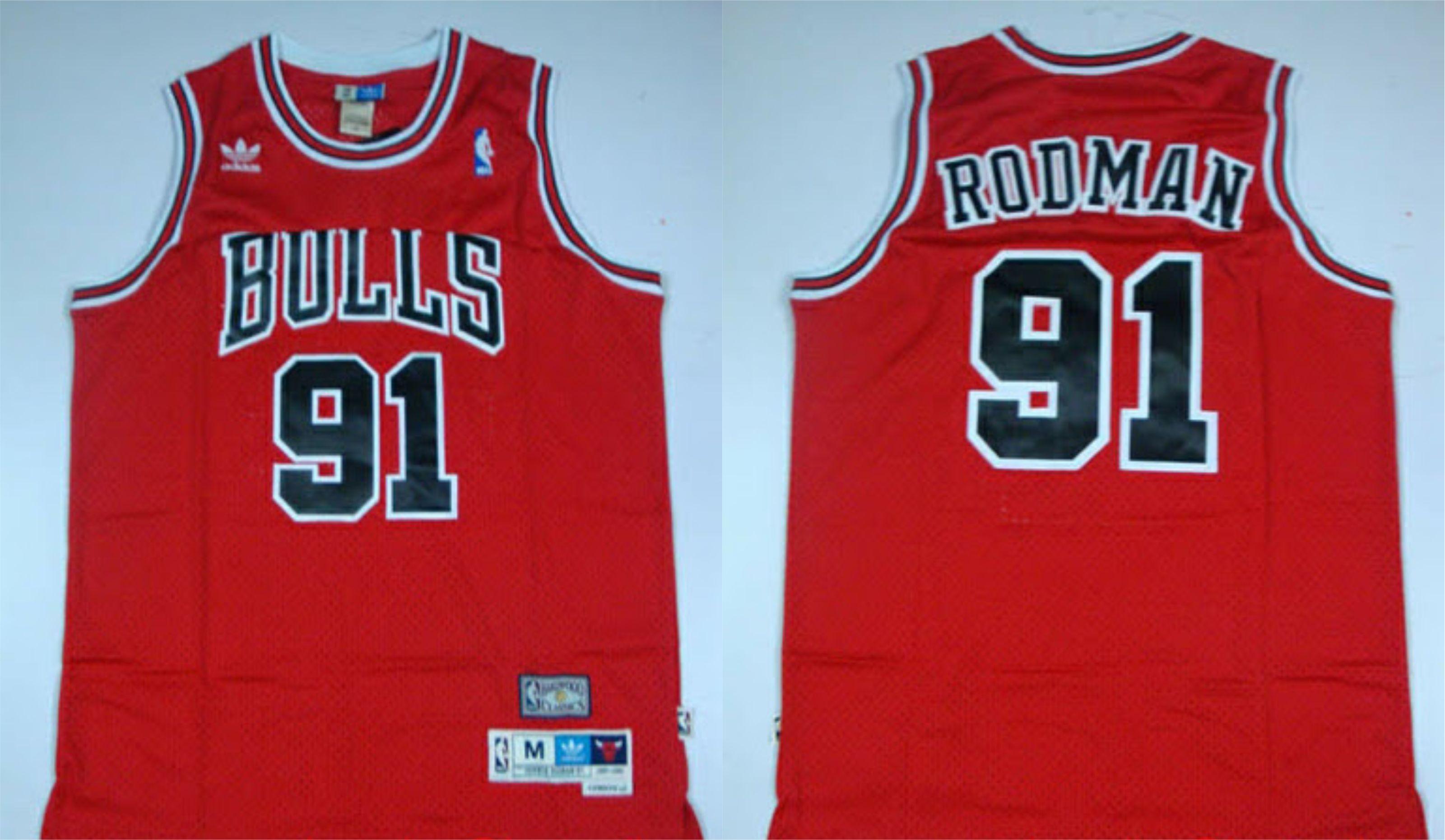 ... Swingman Jersey Dennis Rodman NBA Retro Pinterest Dennis rodman and ... d7fe7ff32