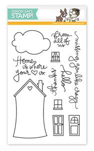 *Simon Says Clear Stamps STAMPtember™ WHERE THE HEART IS sss06124 $14.99
