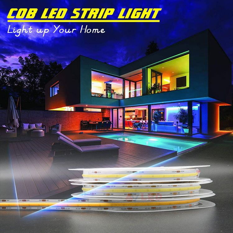 Pin On Cob 528leds S Strip Light