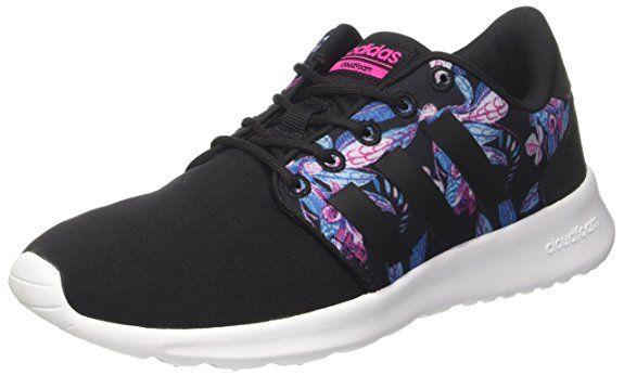 adidas Damen Cloudfoam Qt Racer Sneakers, Bianco ...