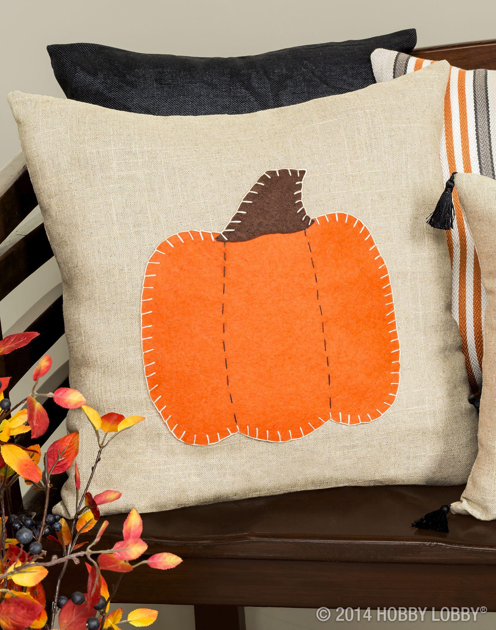 Fall Throw Pillow Halloween
