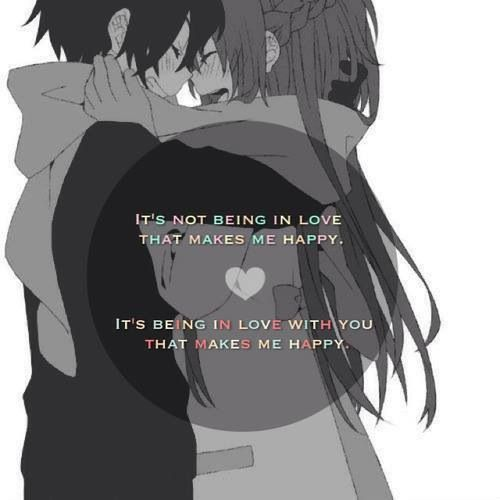 Anime Love Quotes Anime Love Quote  Love  Pinterest  Anime Anime Couples And Sword