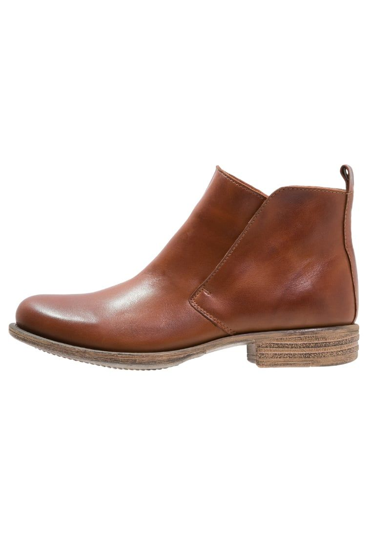 Pier OneAnkle boots - brandy