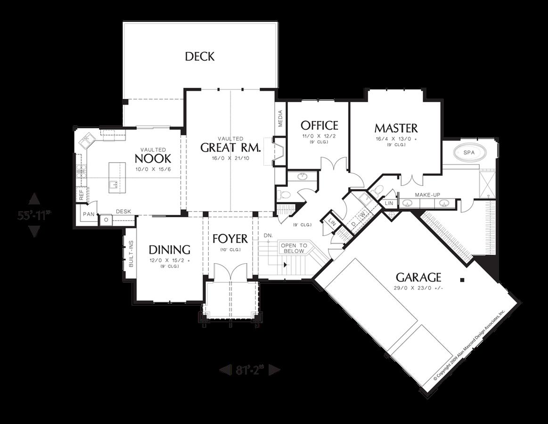 Photo of Handwerker-Haus-Plan 1323 das Paysholme: 3506 Sqft, 4 Betten, 3.1 Bäder