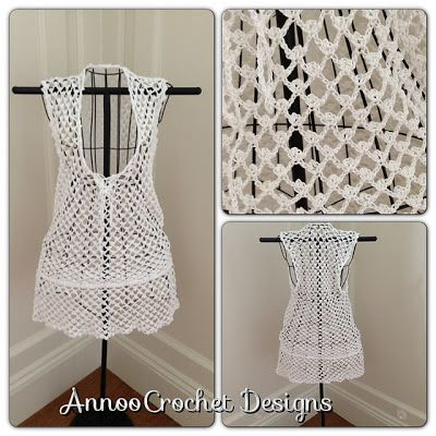 Free Crochet Pattern Beach Cover Up By Annoo Crochet Crochet