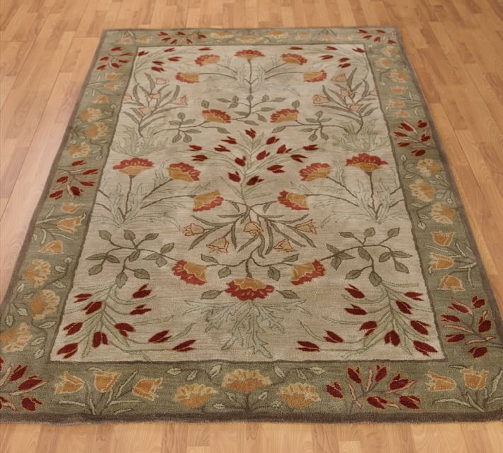 Adeline Hand Tufted Wool Rug Multi In 2020 Pottery Barn Rugs Area Room Rugs Rugs