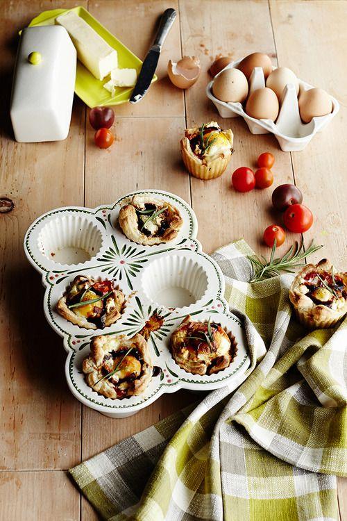 Best of Breakfast: Balsamic Goat Cheese Tarts