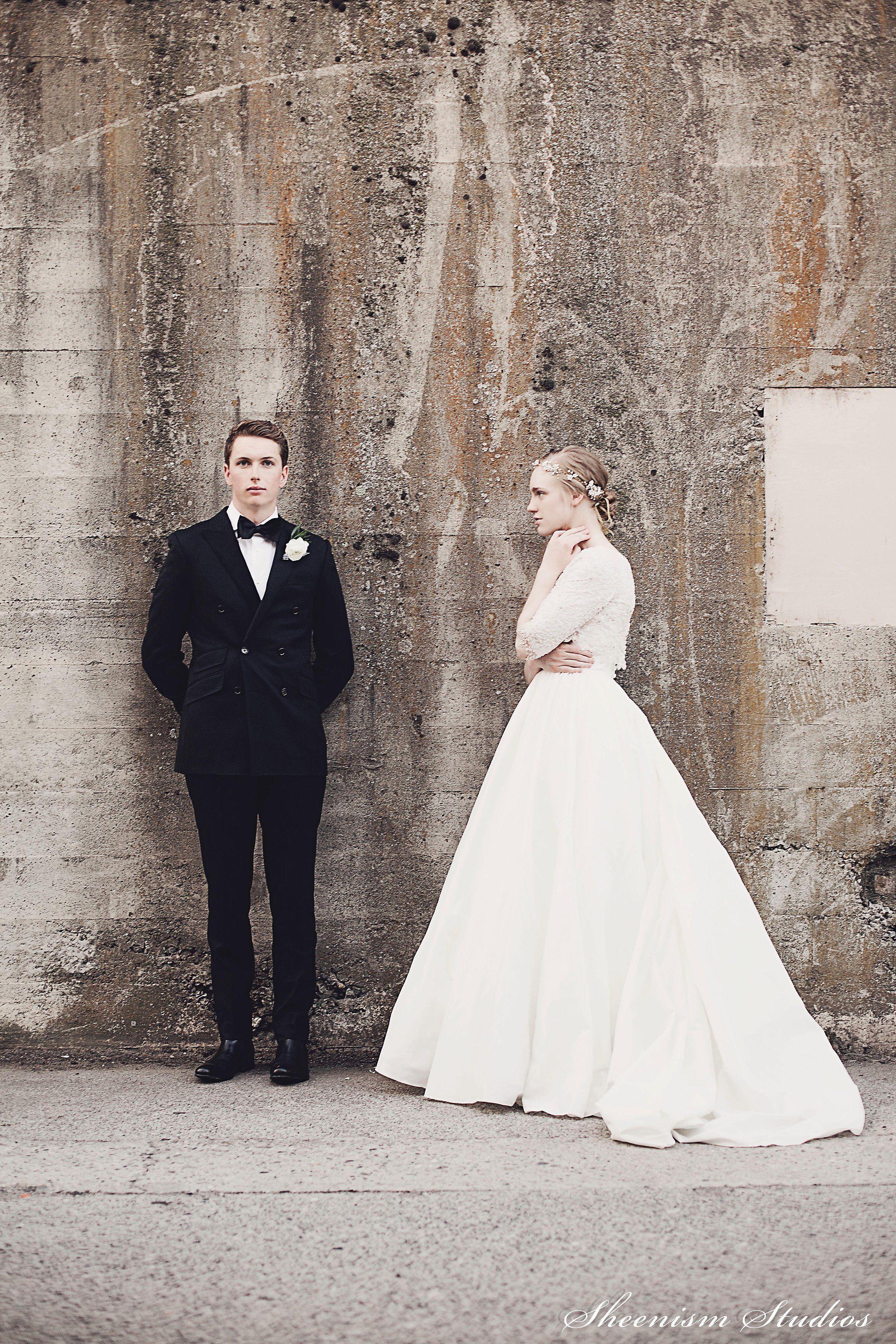 Mother of the bride dresses+island wedding  McKenzie  Nicholas A Modern Industrial Wedding  Modern industrial