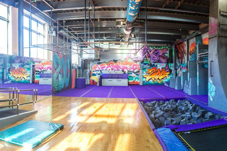 The 28 Most Innovative Gyms In America Indoor Gym Gymnastics Gym Parkour Gym