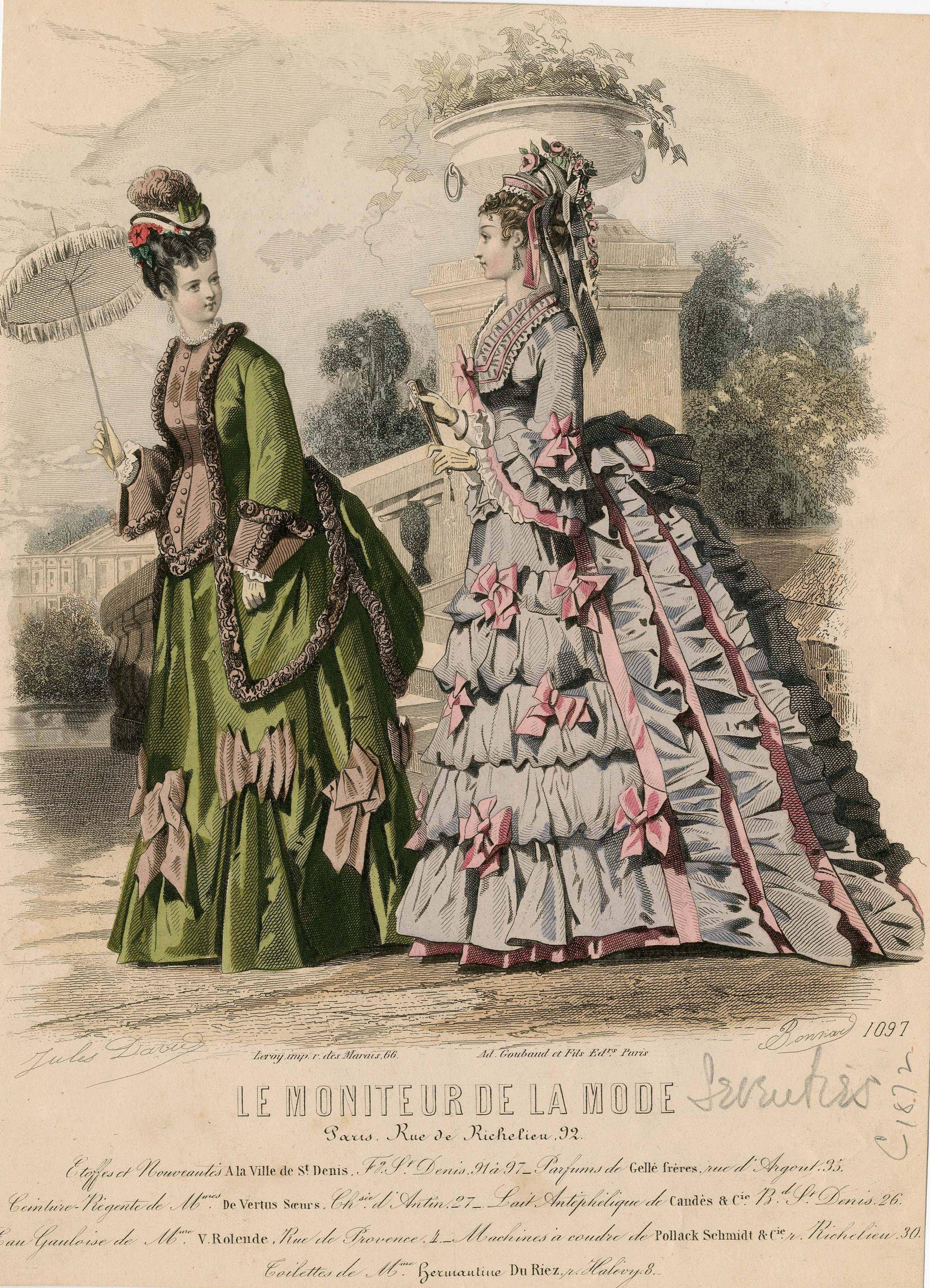 Le Moniteur de la Mode 1873