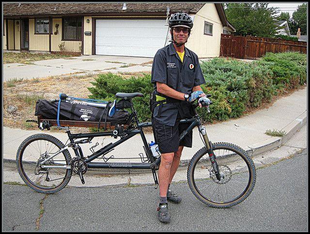 Mountain Utility Bike For Narrow Paths Tandem Bike Bike Tandem Bicycle