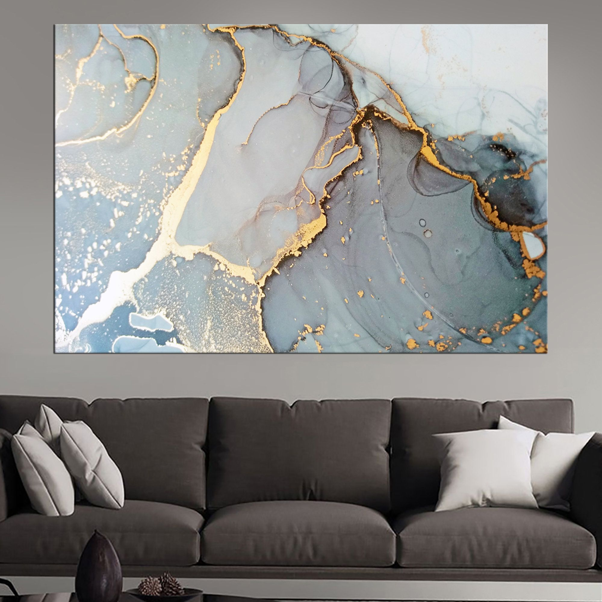 Marbling Wall Art Decorcontrast Ink Patternframed Etsy In 2020 Resin Wall Art Resin Art Painting Abstract Canvas