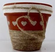 Decorare Vasi Di Terracotta.Risultati Immagini Per Decorazione Vasi Terracotta Riciclo
