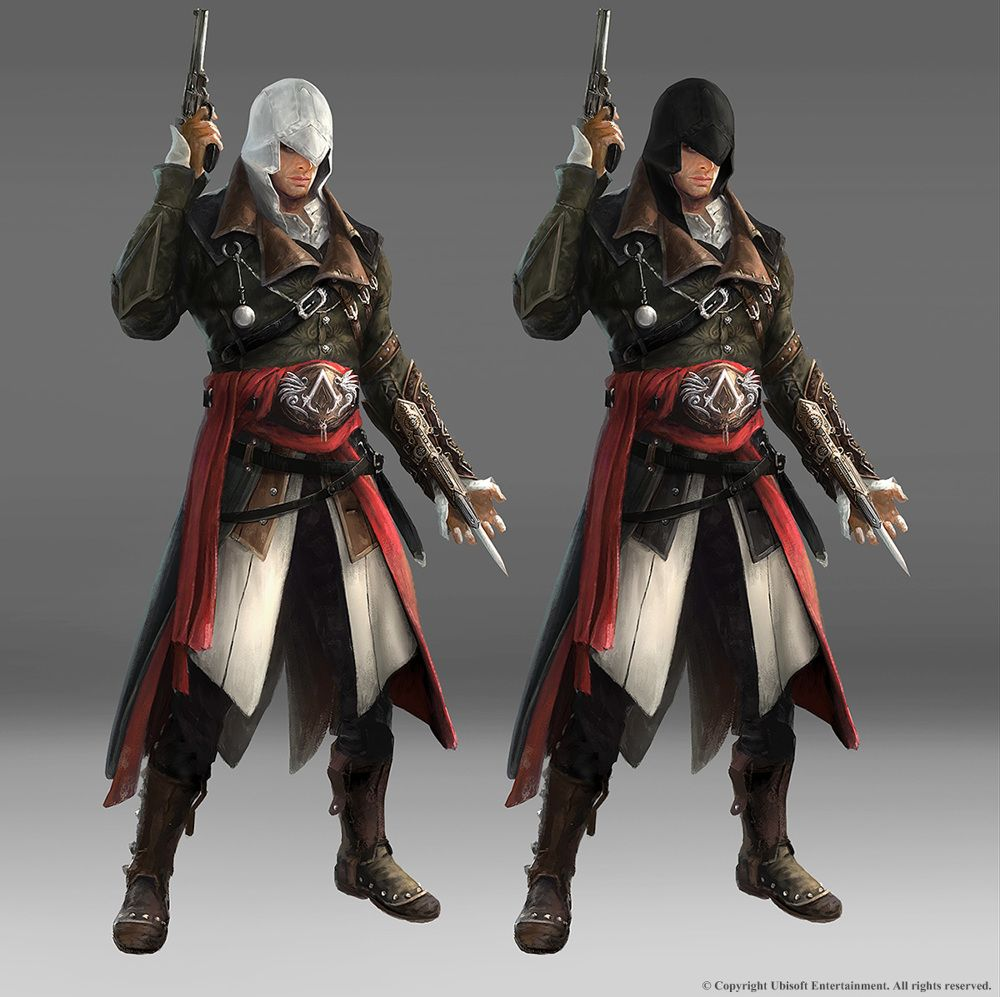 Concept Art From The Assassin S Creed Saga Assassins Creed