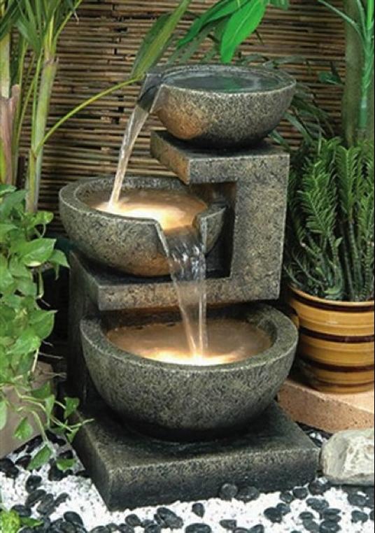garden Asian fountain