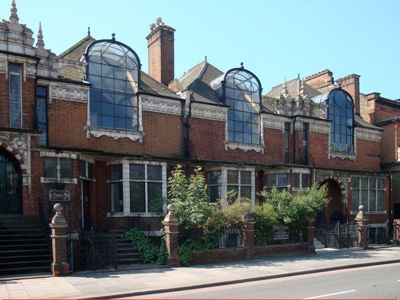 St Pauls Studios - (Frederick Wheeler 1891) Talgarth Road London ...