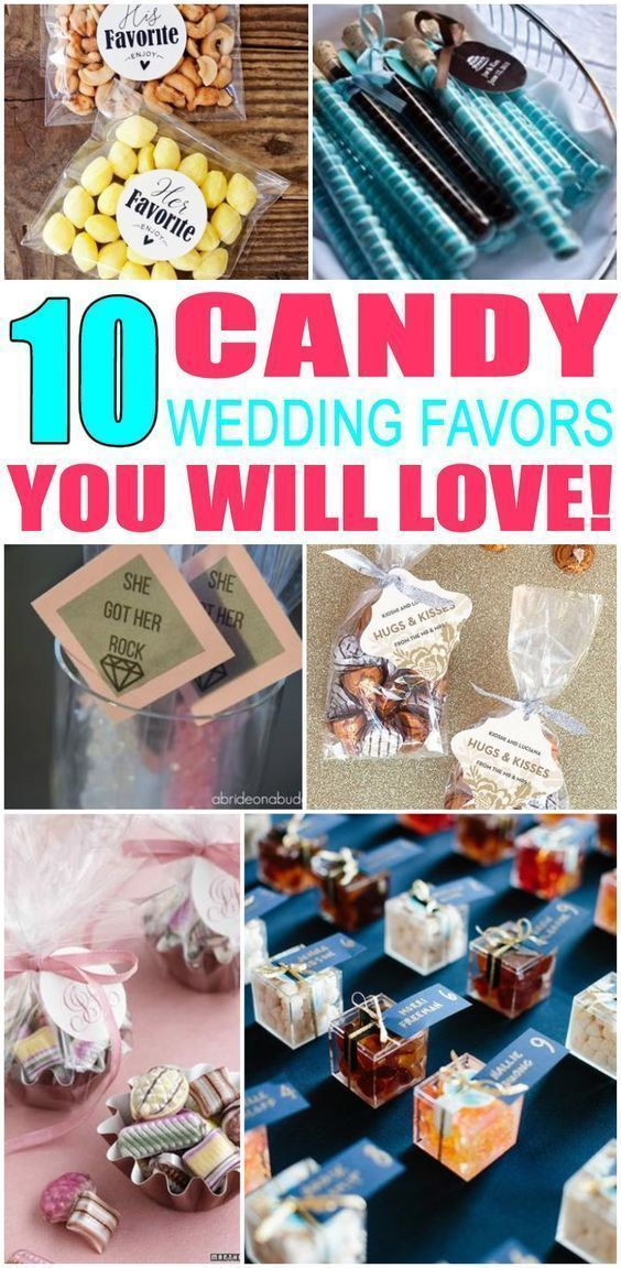 Wedding Favors Candy Wedding Favor Ideas That Your Guests Will Love