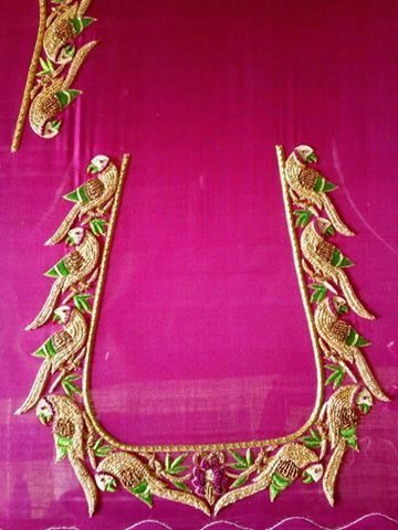 South indian blouse designs silk patterns aari embroidery also pin by ankita patel on design pinterest rh