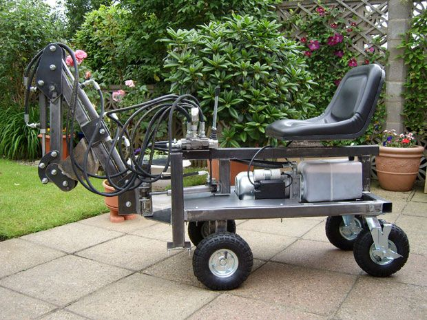 Robot Needs Oil - Boom Tracks