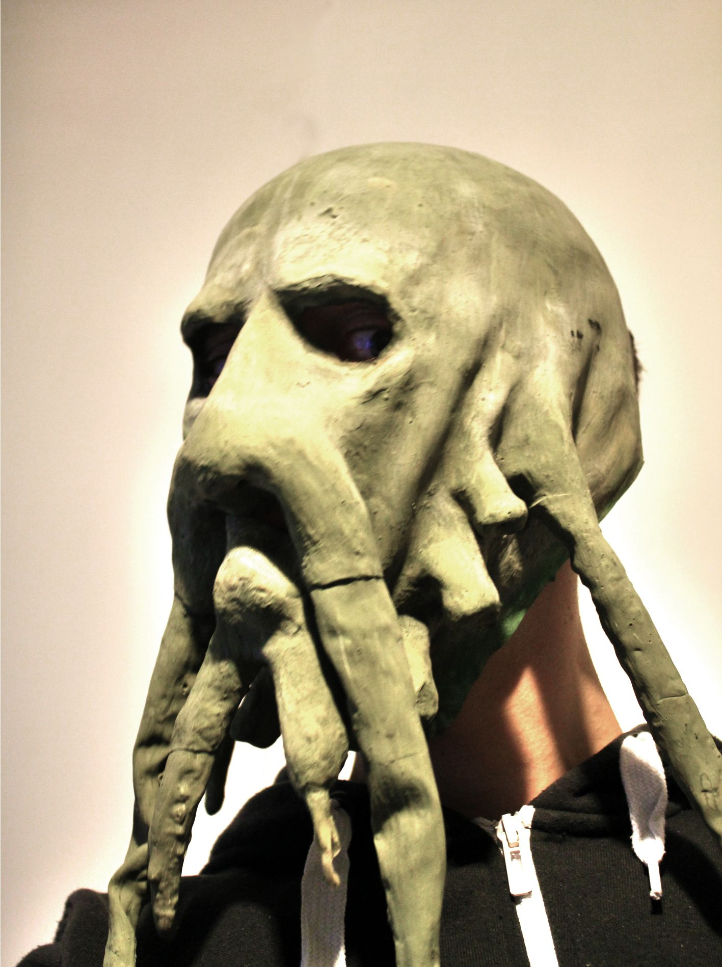 Davy Jones Mask Pirates of the caribbean | Make up | Pinterest ...