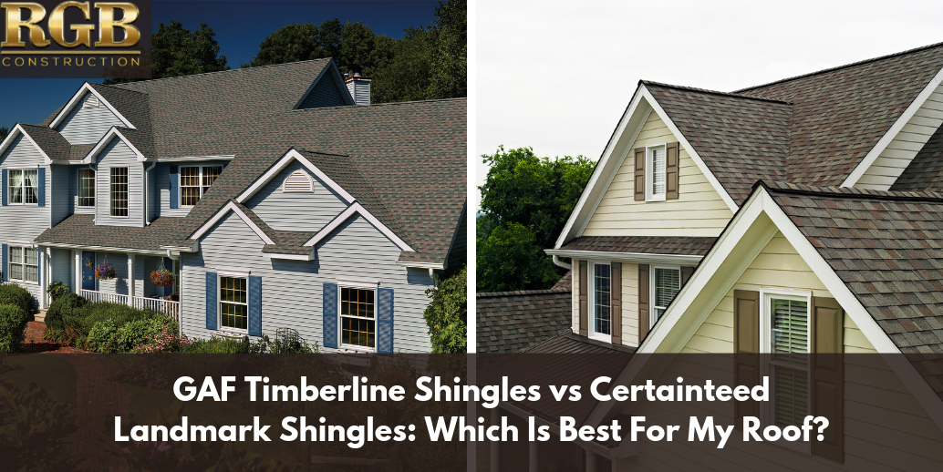 Best Gaf Timberline Shingles Vs Certainteed Landmark Shingles 400 x 300