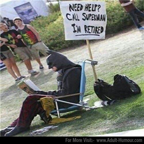 Batman   Batman drôle, Pensée du jour humour, Image humour