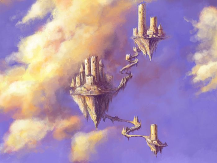 Castles in the Air II by inkwraith on DeviantArt