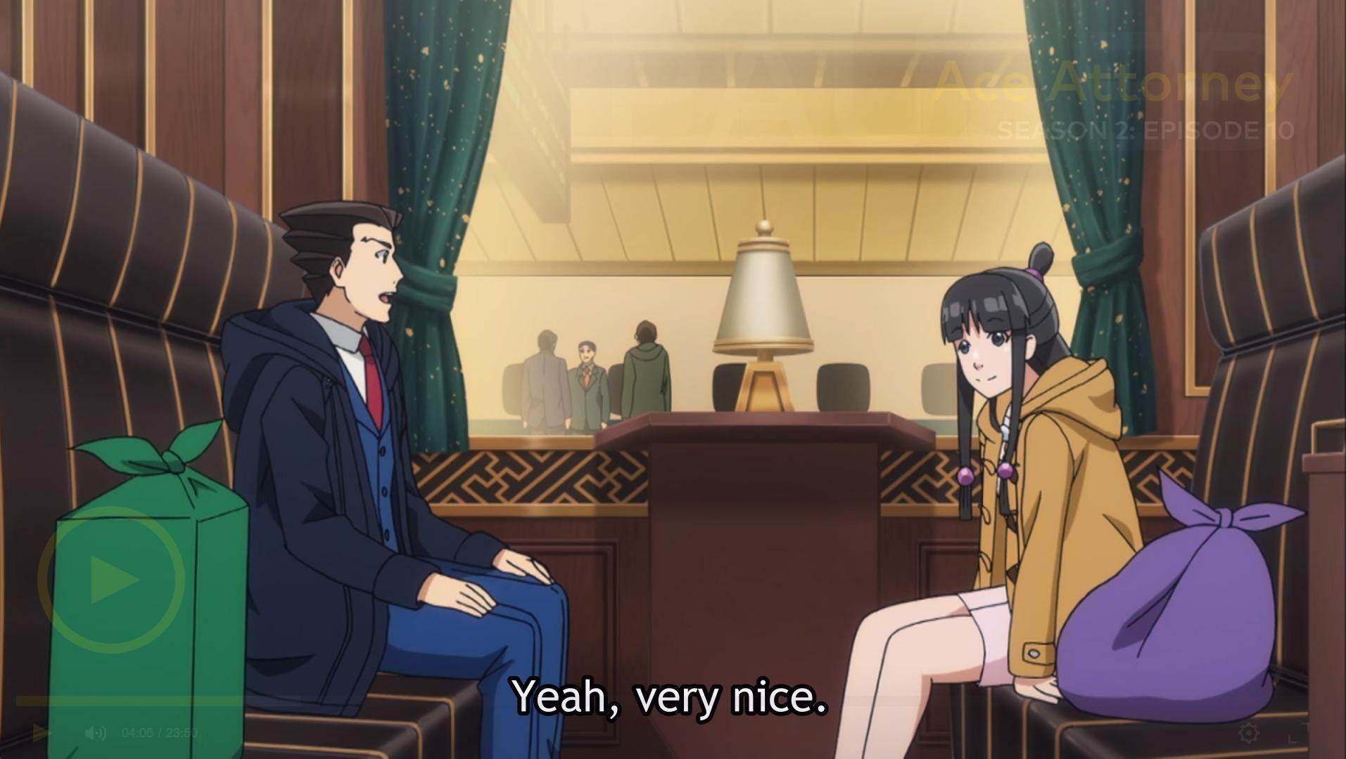 ace attorney anime season 2