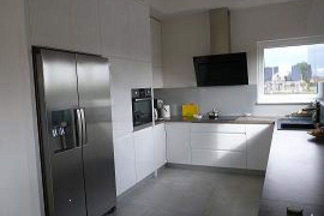 białe kuchnie  Szukaj w Google  Inspiracje do mieszkania   -> Dluga Wąska Kuchnia W Bloku