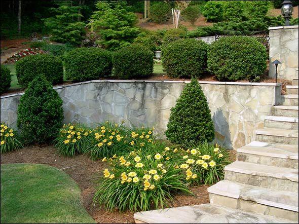 retaining wall ideas | Retaining Wall Installation Planning & Design ...