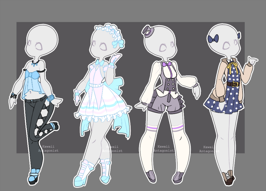 Gacha outfits 10 by on