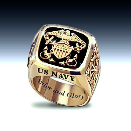 bague homme us navy