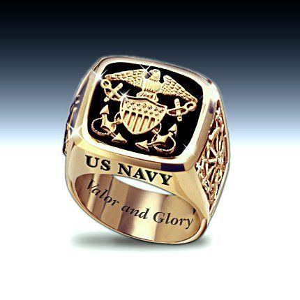 US Navy Mens Ring Jewelry Mens Pride Pinterest Navy