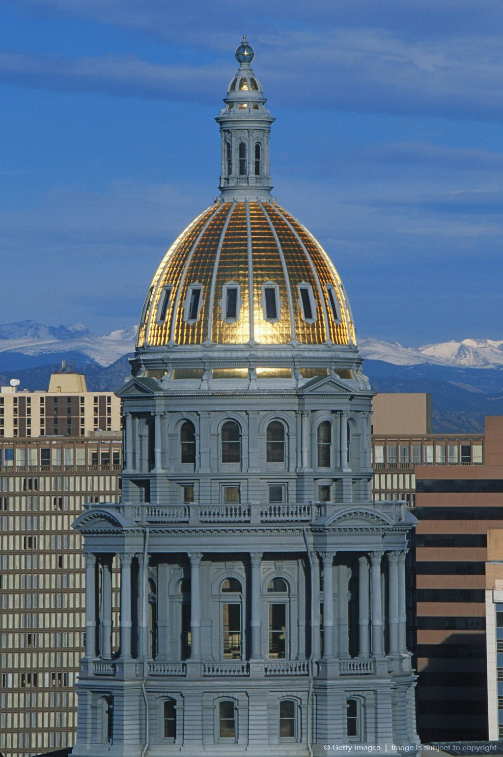 State Capitol of Colorado, Denver went on a tour of Capitol/Dome when one of my sons classes 35 + years got to visit