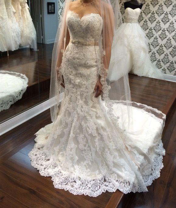 Real Brides Wearing Stella York