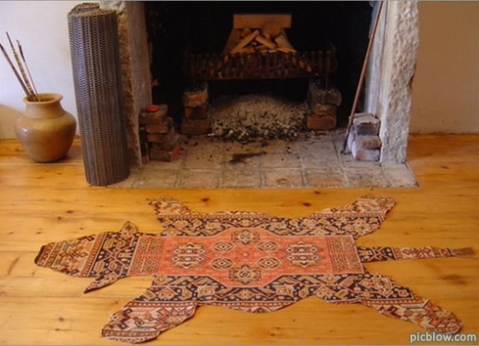 Teppich Bärenfell