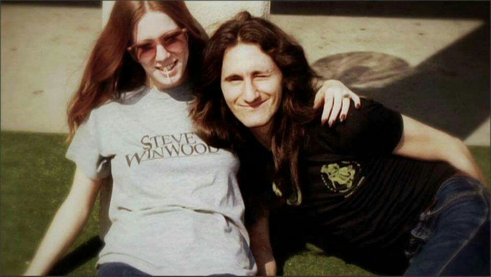 Geddy Lee with cool, Wife Nancy Young
