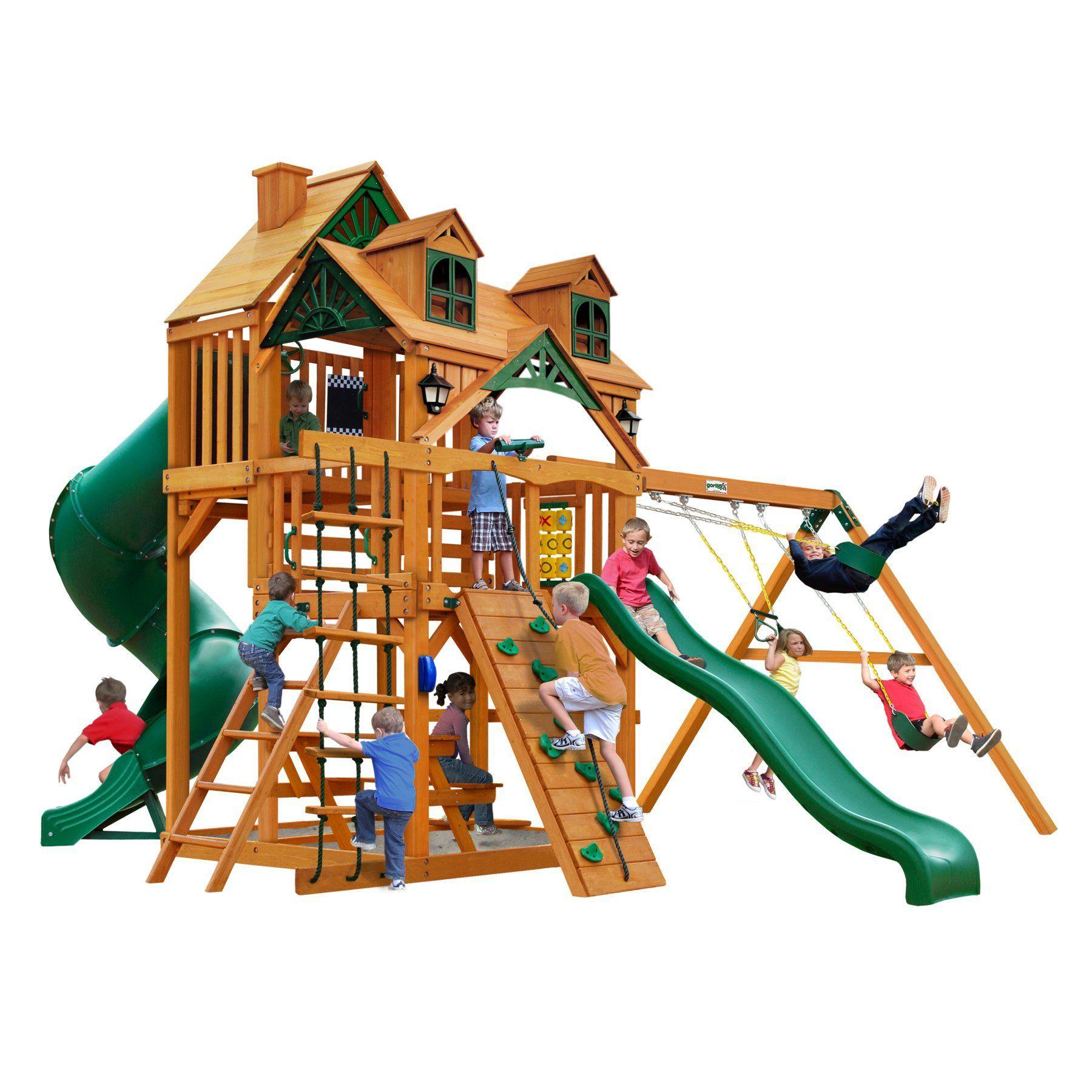 Gorilla playsets malibu deluxe i swing set ap products