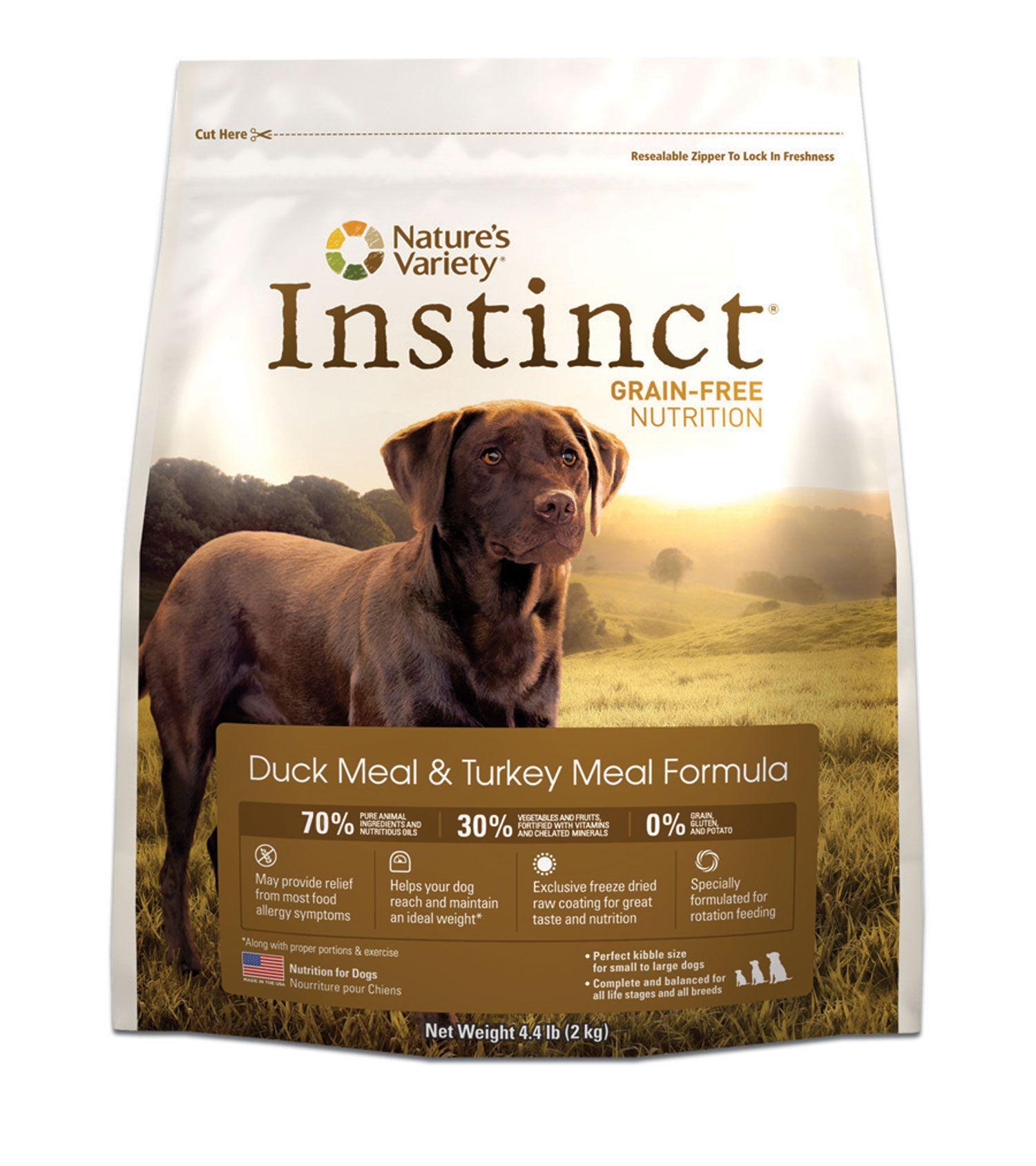 instinct puppy food large breed
