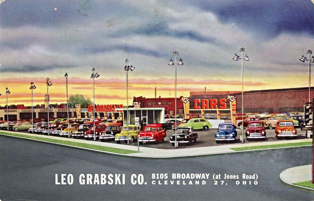 Used Cars Cleveland Ohio >> Leo Grabski Co Ford Cleveland Oh 1952 Car Dealerships
