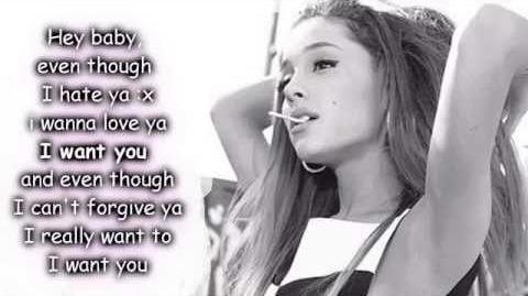 Ariana Grande quotes and lyrics on Pinterest