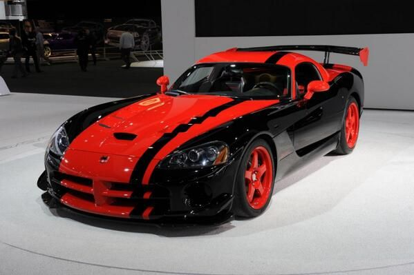 Dodge Viper Acr Special Edition Black And Red Gorgeous Visit