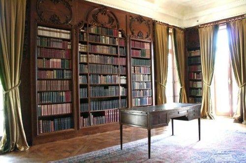 Edith Wharton's home library