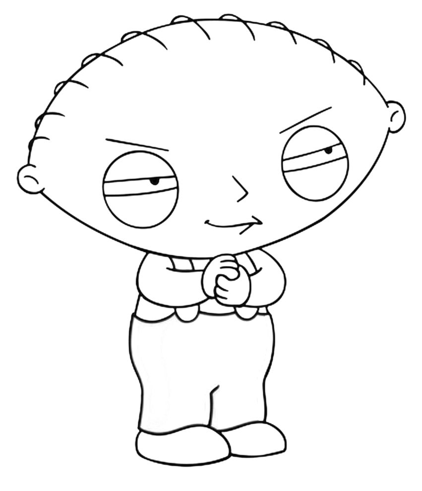 awesome Free Family Guy Free Coloring Pages Printable | Colouring ...