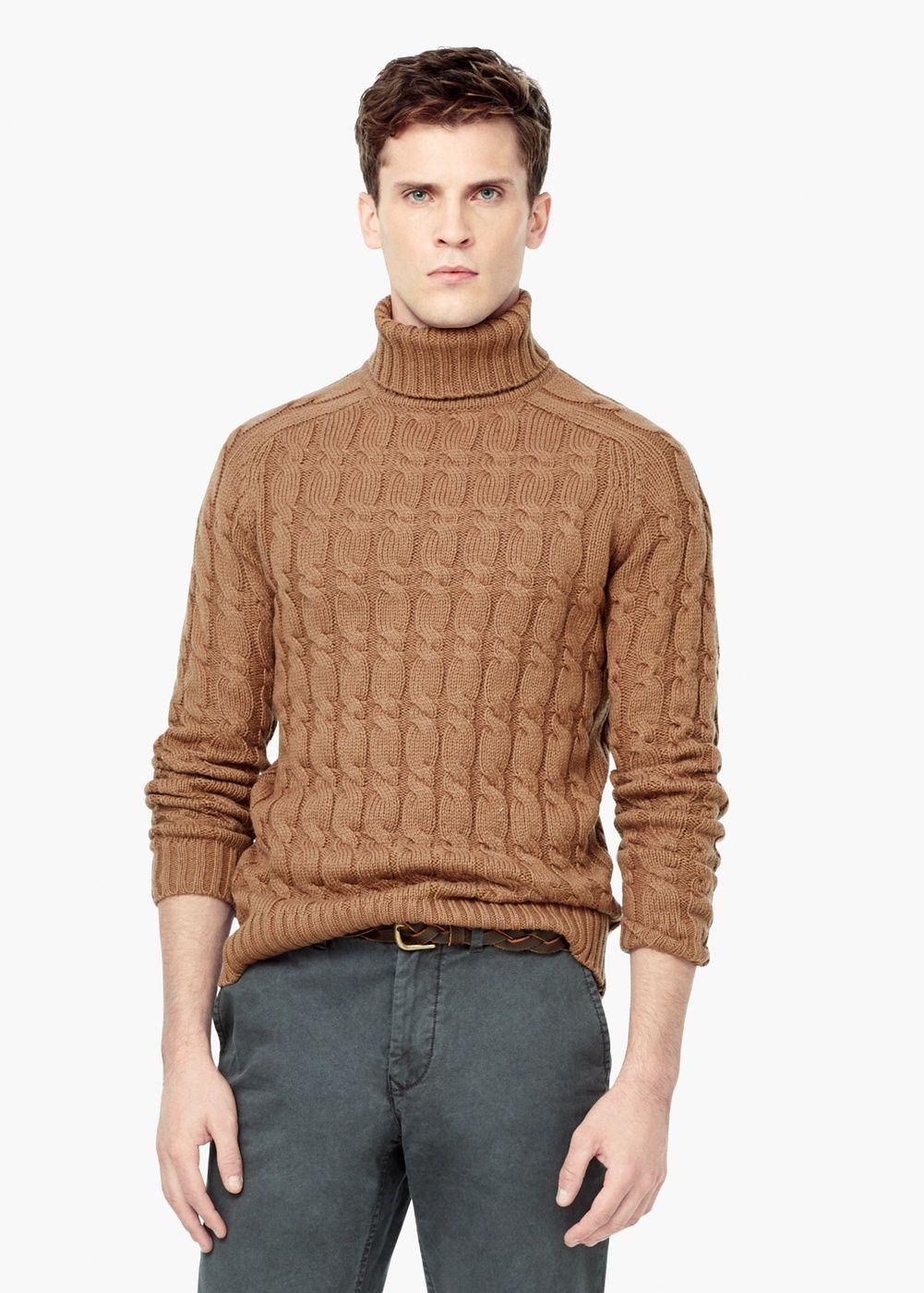 e663975ba Jersey lana ochos - Hombre | Moda hombre | Moda hombre, Hombres y Moda