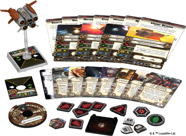 Quadjumper Expansion Pack | The expanse, X wing miniatures, Dark side