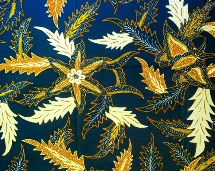 Wow 23 Gambar Batik Motif Flora 15 Contoh Ragam Hias