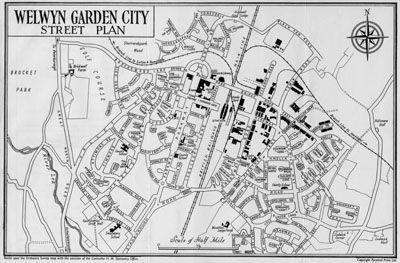 Welwyn Hertfordshire England Second Garden City Welwyn Garden City London City