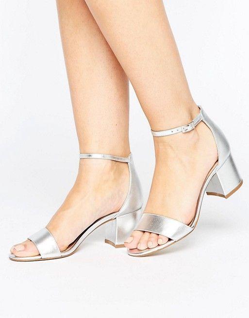 18fb06177709 Shop ALDO Villarosa Leather Block Heel Sandals at ASOS.